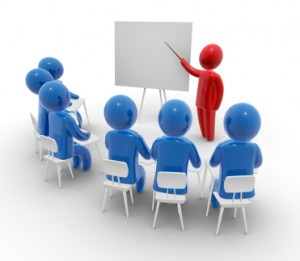 Training class image